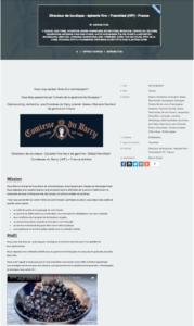 annonce emploi open sourcing