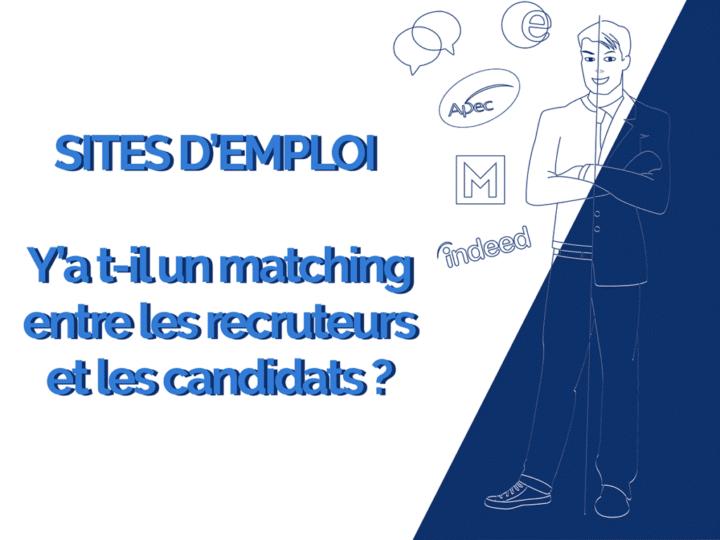 Sites emploi : y a t-il matching entre les recruteurs et les candidats ?
