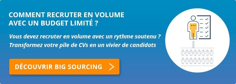 Lien offre recrutement en volume OpenSourcing
