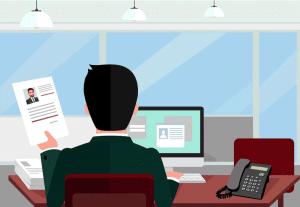Illustration sur Candidesk, logiciel de gestion de base CV