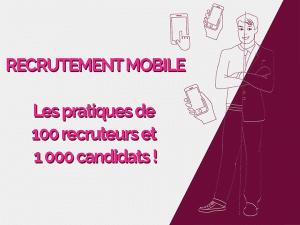 L'utilisation du mobile dans le recrutement