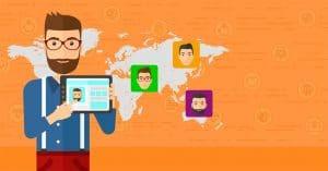 Illustration sur le sourcing digital de candidats