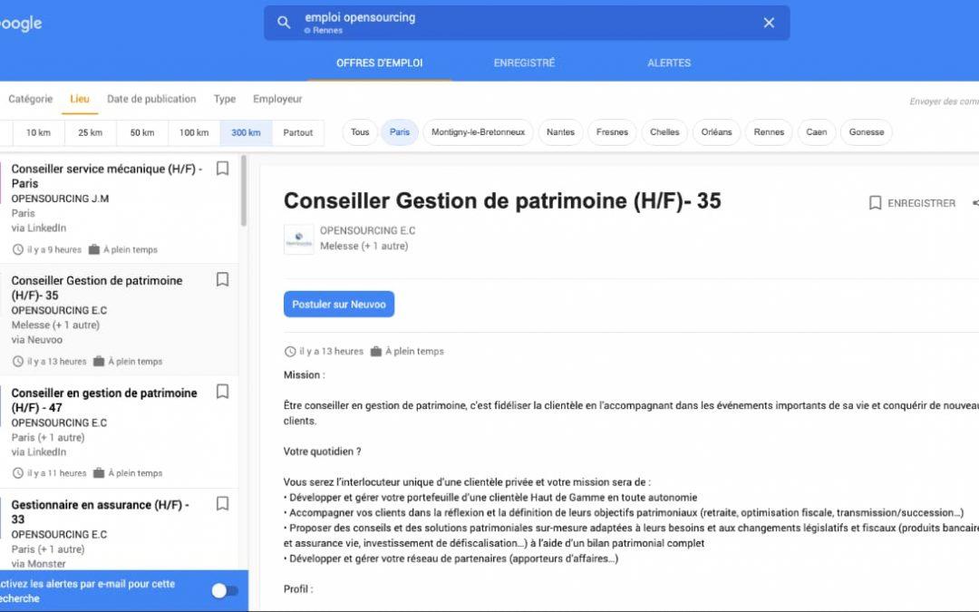 Google for jobs : comment publier et optimiser vos offres d'emploi ?