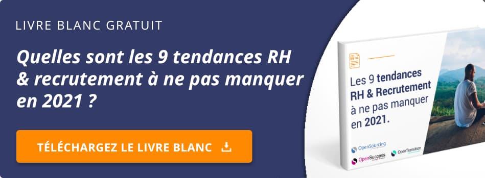 Livre blanc 2021 - Tendances RH et recrutement