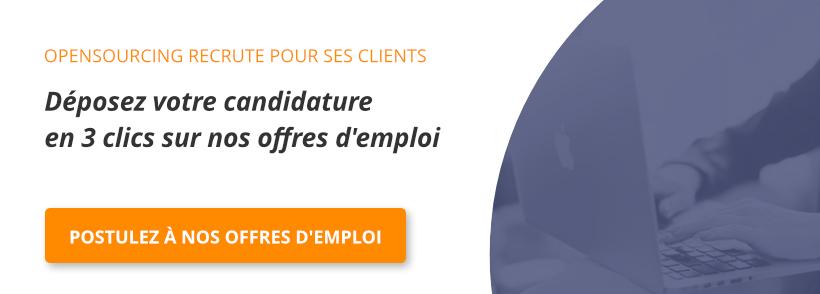 Bannière emploi OpenSourcing